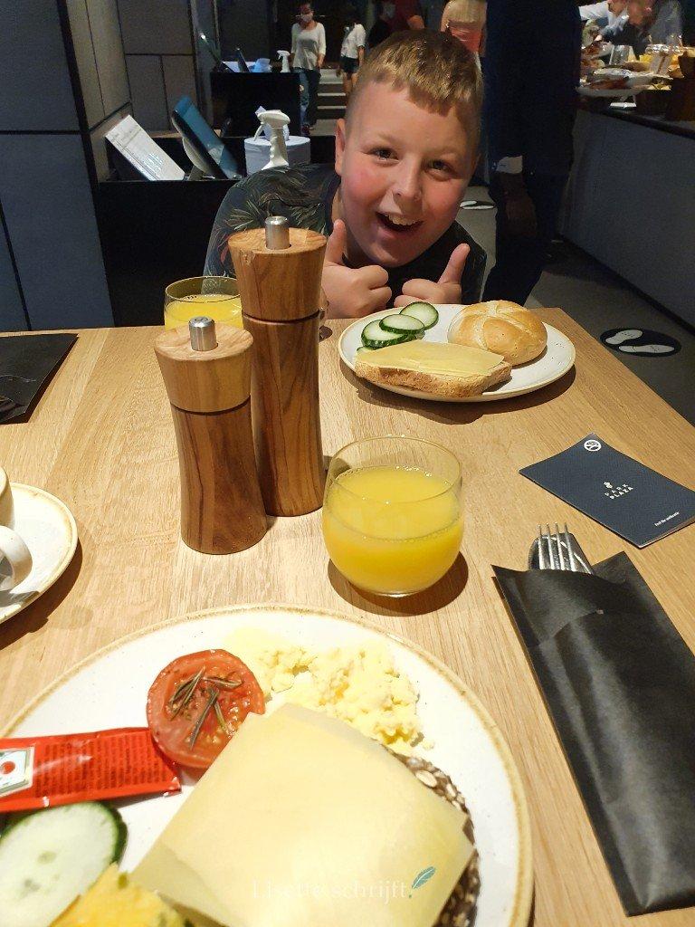 ontbijt in park plaza amsterdam