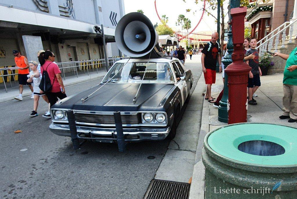De Blues Brothers auto in Universal Studio's Florida